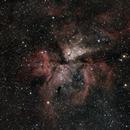 Nebulosa de Eta Carinae ( NGC 3372),                                Andrés González