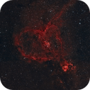 Heart Nebula - IC 1805,                                thesiles