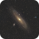 M31 from City Center,                                Pogo30