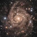 IC342 in LRGB, The Hidden Galaxy,                                Benoit Blanco