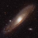 M31 Andromeda,                                Deraux LeDoux