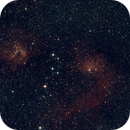 IC 405 and IC 410 – 150mm focal lenght crop ,                                Olli67