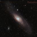 M31 in Hα-OIII,                                Roberto Frassi
