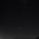 Venus y Jupiter,                                Spica_Virgo