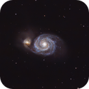 M51 Whirlpool Galaxy,                                seltech