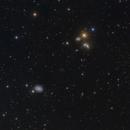 NGC 5371, NGC 5355, NGC 5354 and NGC 5350,                                Eric Coles (coles44)