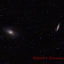 Bode and Cigar galaxies,                                Francisco