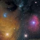 Cosmic Color show in Scorpius,                                Uri Abraham