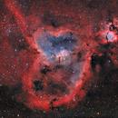 IC 1805 La nébuleuse du coeur - HaOIII RVB,                                Séb GOZE