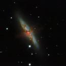 M 82 - The Cigar Galaxy,                                GALASSIA 60