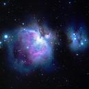 M42 - Orionnebel,                                eric_90g