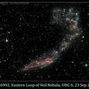 NGC 6992, Eastern Loop of Veil, UHC-S, 23 Sep 2013,                                David Dearden