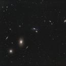 Cadena Markarian, cúmulo de galaxias,                                Astrofotografia A.R.B.