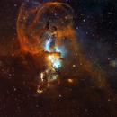 NGC 3576 - Statue of Liberty Nebula,                                Yovin Yahathugoda