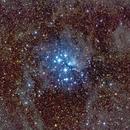 Pleiades - M45,                                Jim Matzger