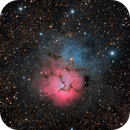 M20 Trifid nebula,                                Verio