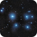 A quick M45 in city skies,                                Tony Blakesley