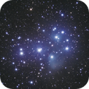 M45 - The Pleiades shot from the clear skies of Corsica,                                Jérémie