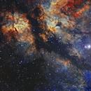 IC1318 - The Butterfly Nebula,                                Jason Wiscovitch