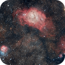 Triffid and Lagoon Nebulas,                                CarlosAraya