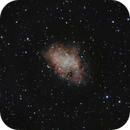 Messier 1 - Crab Nebula / Test ZWO ASI294MC-Pro,                                Hartmuth Kintzel