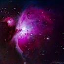 4min of Orion at 1300mm,                                Björn Hoffmann