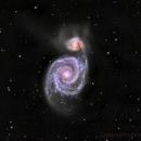 M51 Whirlpool Galaxy,                                niteman1946