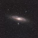 M31 - Andromeda Galaxy (wider view),                                Lee B