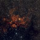 NGC6357,                                Hideki
