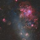 Tarantula nebula in LMC,                                lizarranet