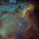The Pelican nebula IC 5070,                                Christoph Lichtblau