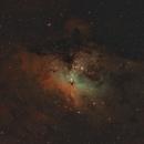NGC 6611,                                Patrick Fricker