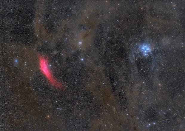 From California Nebula to Pleiades,                                Robert Eder