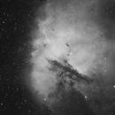 NGC 281, The Pacman Nebula in Ha,                                Steve Cooper
