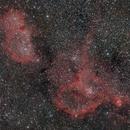 IC 1805 + IC 1848 Heart and Soul Nebulae,                                FedericoCarolloAstrophoto