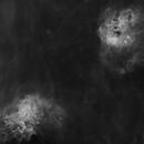 IC405 & IC410 - Starless,                                Hans Kelgtermans