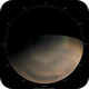 Mars   South Polar Cap from June to January,                                Chappel Astro