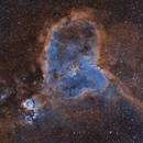 IC 1805; the Heart Nebula,                                Steve Cooper