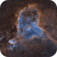 IC 1805; the Heart Nebula,                                Steve Cooper