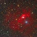 NGC 7635 - Bubble Nebula - and KjPn 8,                                Bob Gillette
