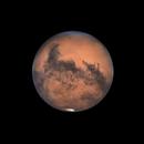 Mars at opposition 10/13/2020,                                Morris Yoder