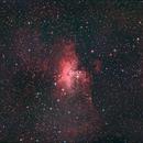 M 16 Eagle Nebula,                                GALASSIA 60