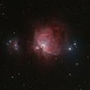 M42 - Orion Nebula,                                Mike Hislope