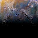 Mare Imbrium sunrise,                                Manuel Huss