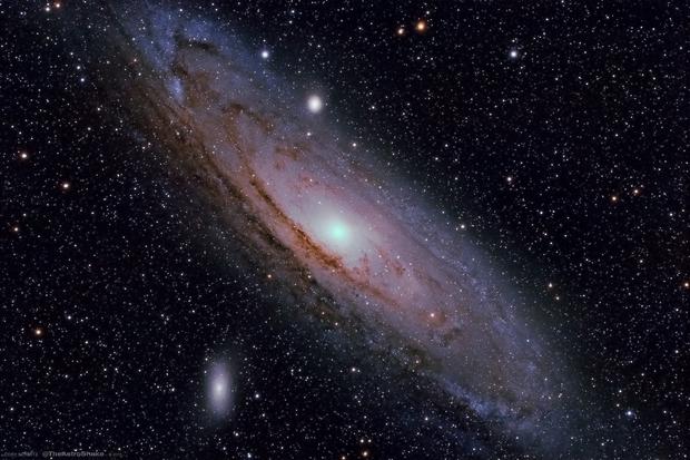 Messier 31, Andromeda Galaxy,                                Cory Schmitz
