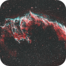 NGC6992 - Veil Nebula, eastern wall - HOO,                                Patrice B