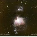 Orion Nebula (M42) & Running Man Nebula (NGC1977),                                Beatrice Heinze