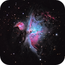 The Orion Nebula - Imaging on an Alt / Az,                                Brent Newton