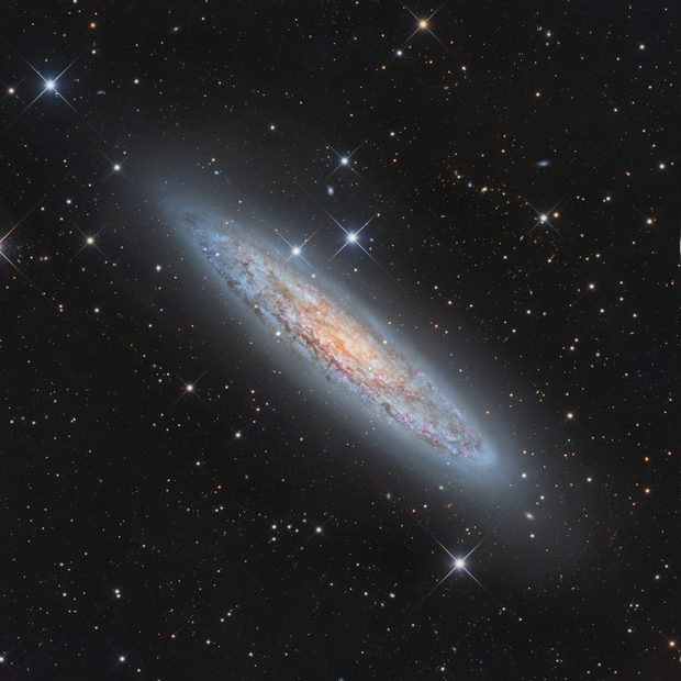 NGC 253, Sculptor galaxy,                                Alexander Sorokin