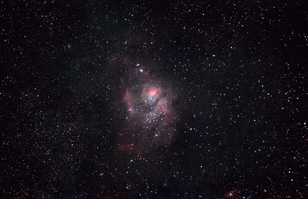 M8 (Lagoon Nebula),                                Mert Dikmen